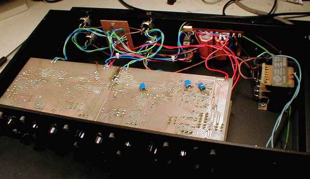 Gyraf Audio - DIY Calrec EQ