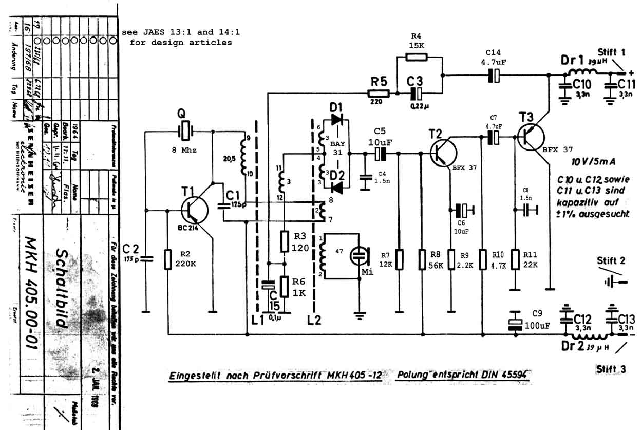 Sennheiser_Mkh 405 classic schematics sennheiser g3 wiring diagram at edmiracle.co